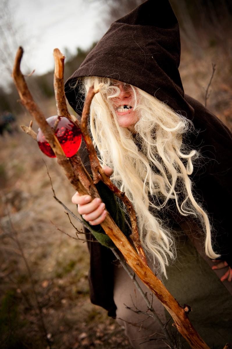 Ett äventyr kan innehålla häxor och magi och vad som helst. Med fantasi är allt möjligt. Foto: Christoffer Munkestam