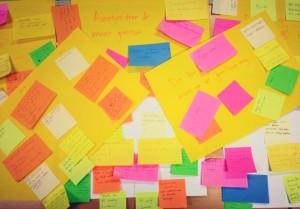 Många idéer kom fram på visionsmötet i januari. Kom och var med den 1 februari. Foto: Nathalie C. Andersson